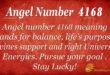 Angel number 4168