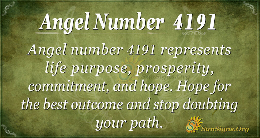 4191 angel number