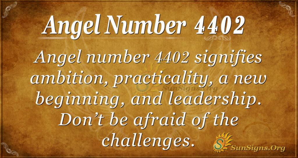 4402 angel number