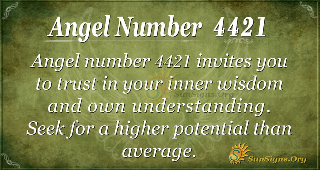 4421 angel number