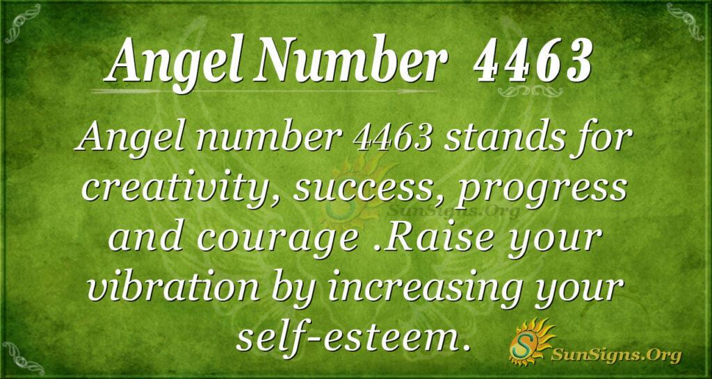 4463 angel number