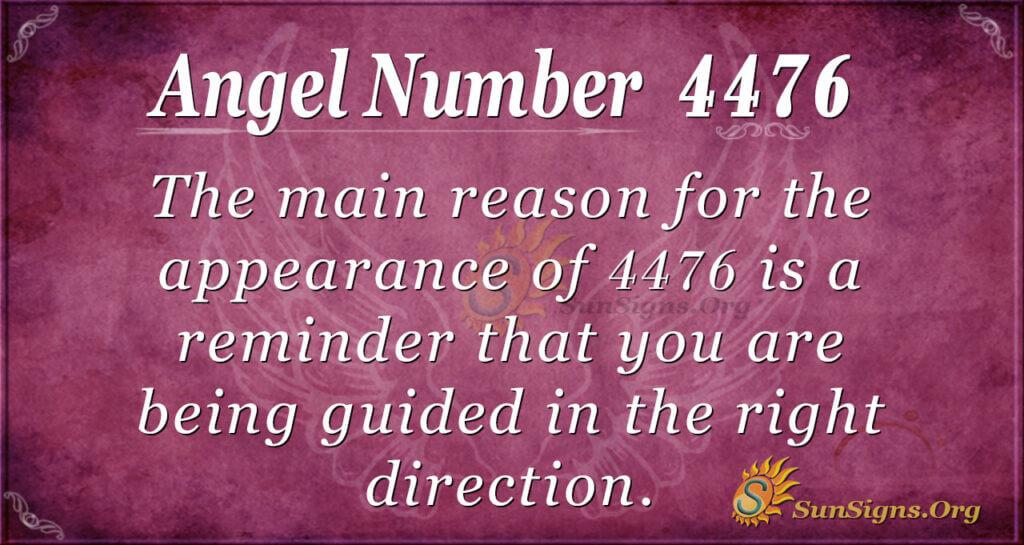 4476 angel number