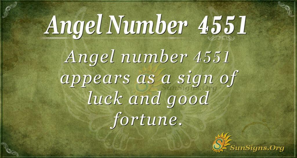 4551 angel number