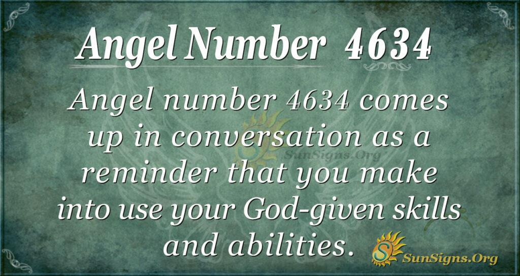 4634 angel number