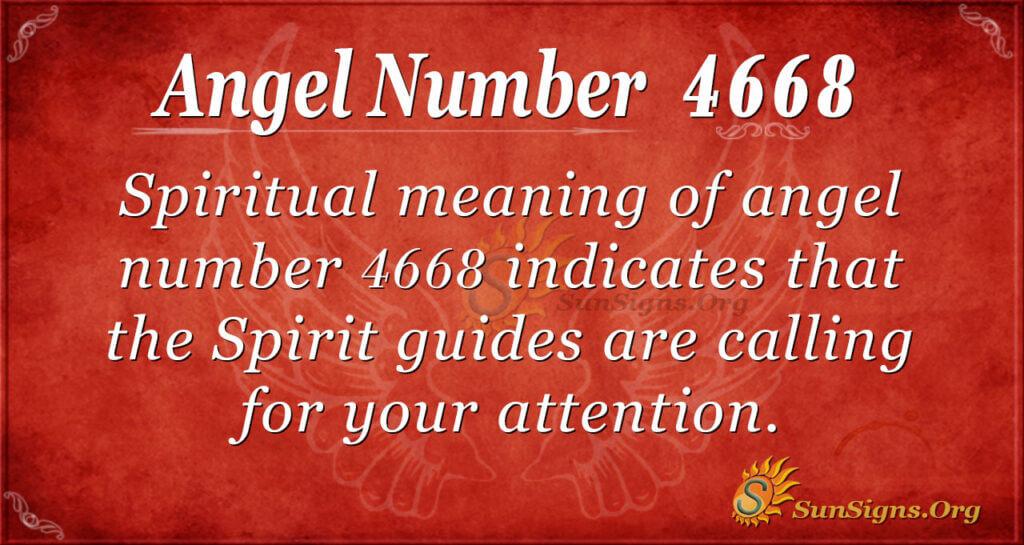 4668 angel number
