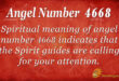 4668 angel number