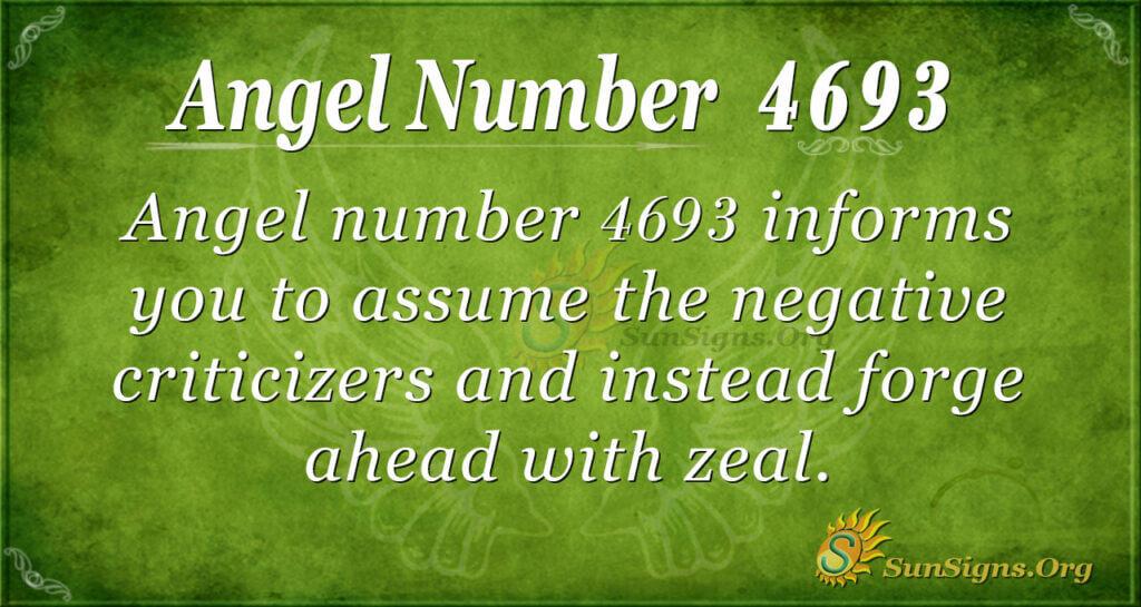 4693 angel number