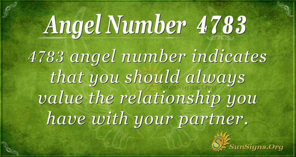 4783 angel number