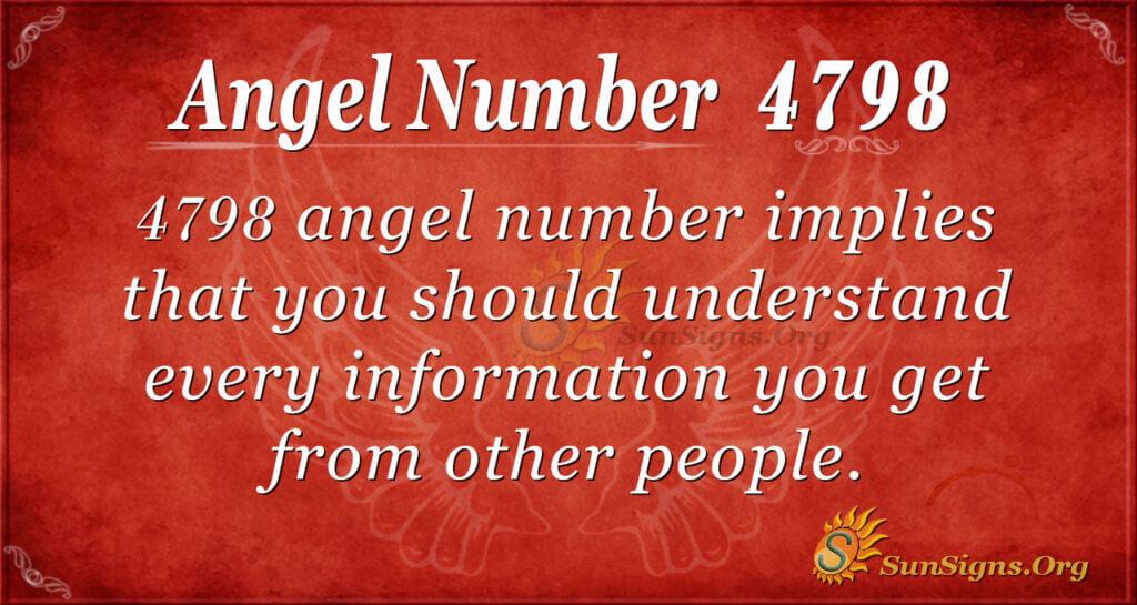 4798 angel number