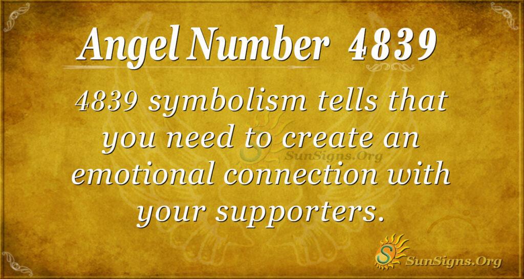 4839 angel number