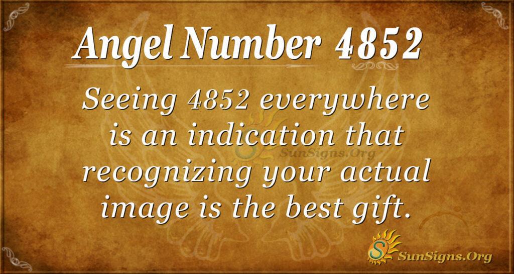 4852 angel number
