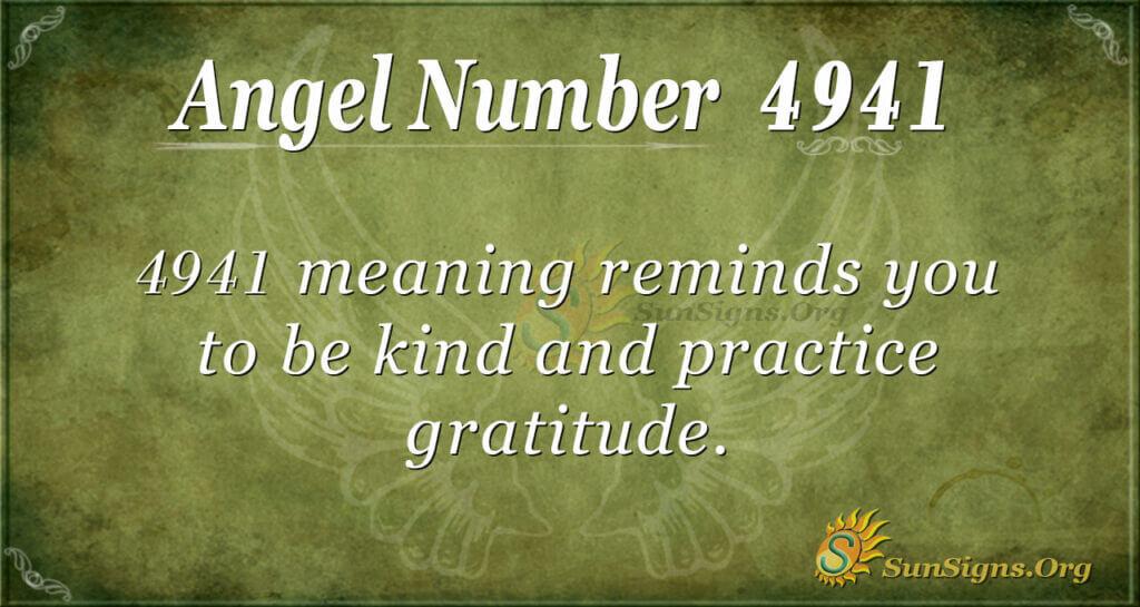 4941 angel number