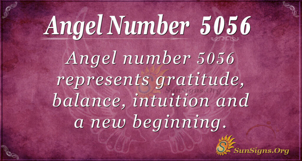 5056 angel number