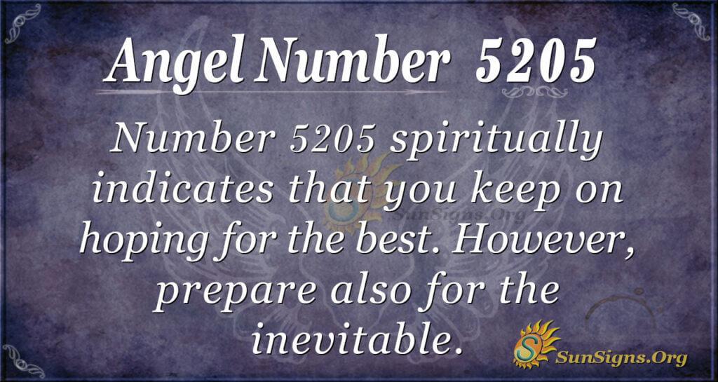 5205 angel number