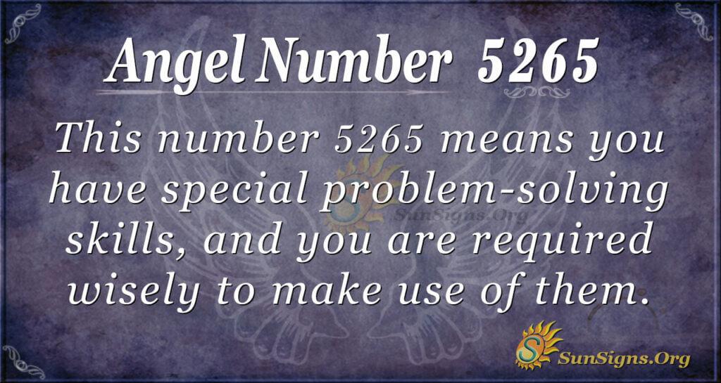 5265 angel number