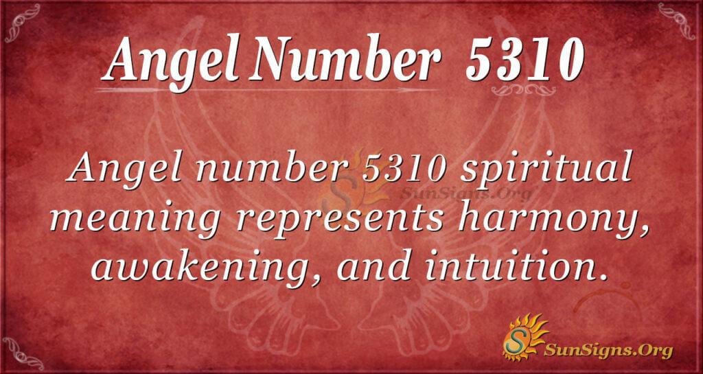 5310 angel number