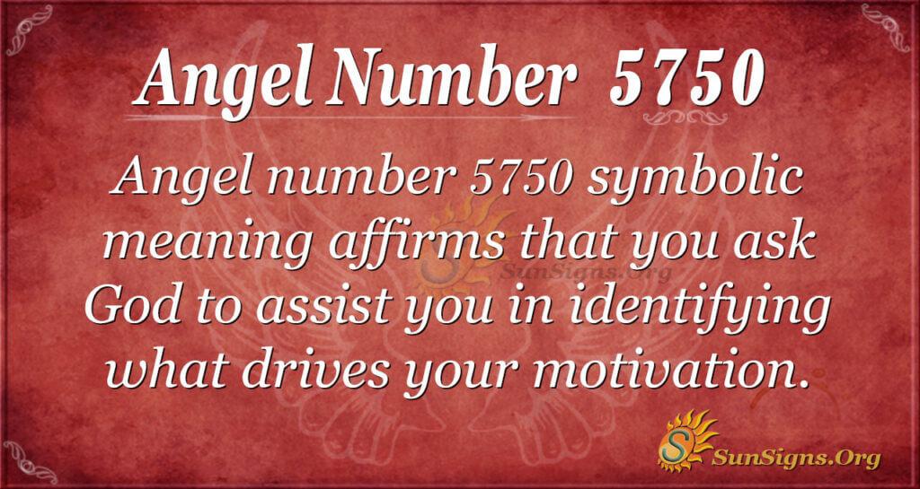 5750 angel number