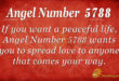 5788 angel number