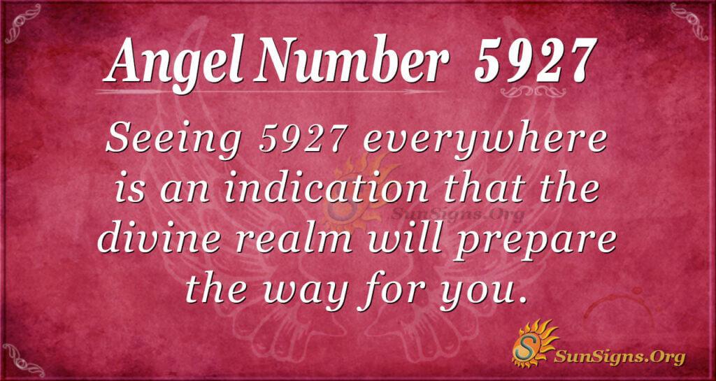 5927 angel number