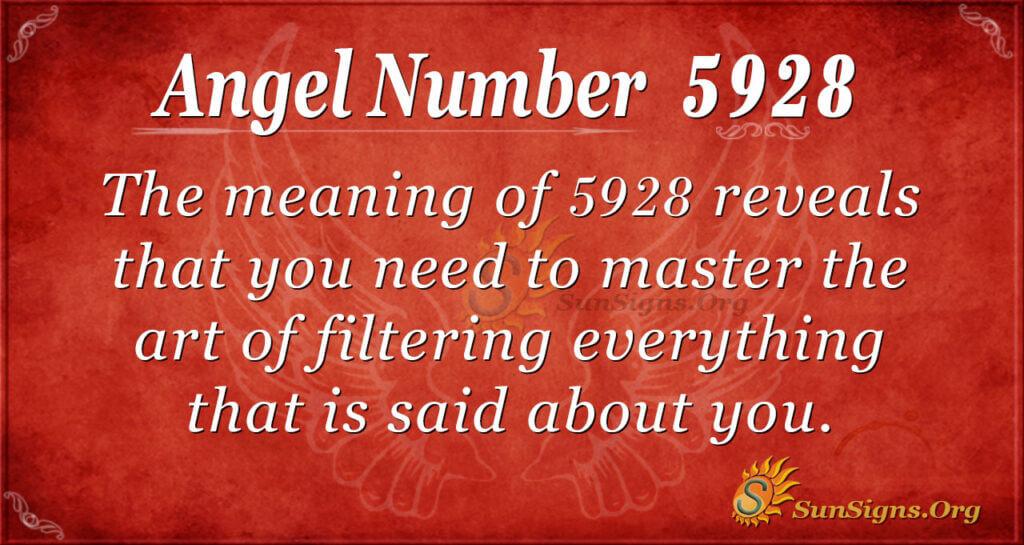 5928 angel number