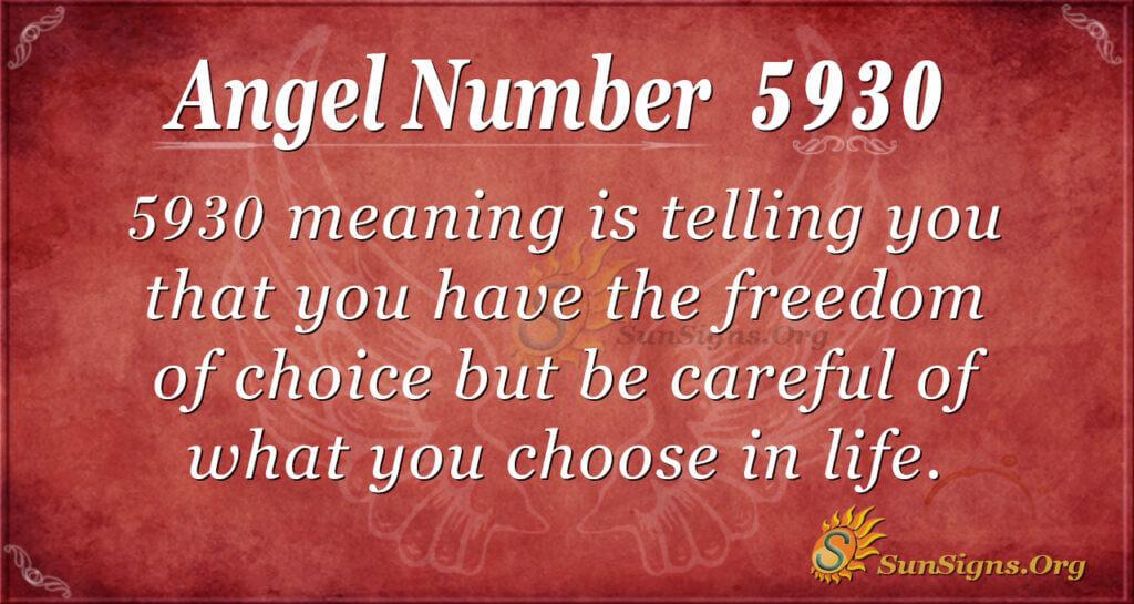 5930 angel number