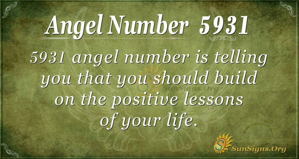 5931 angel number