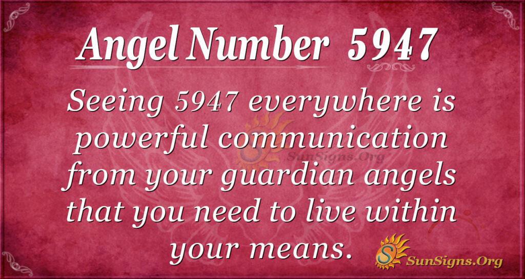 5947 angel number