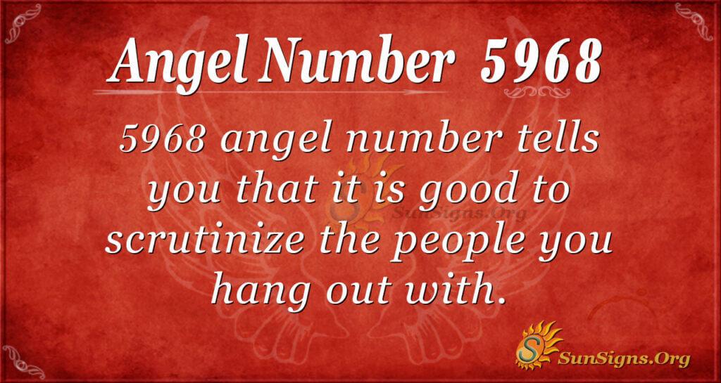 5968 angel number