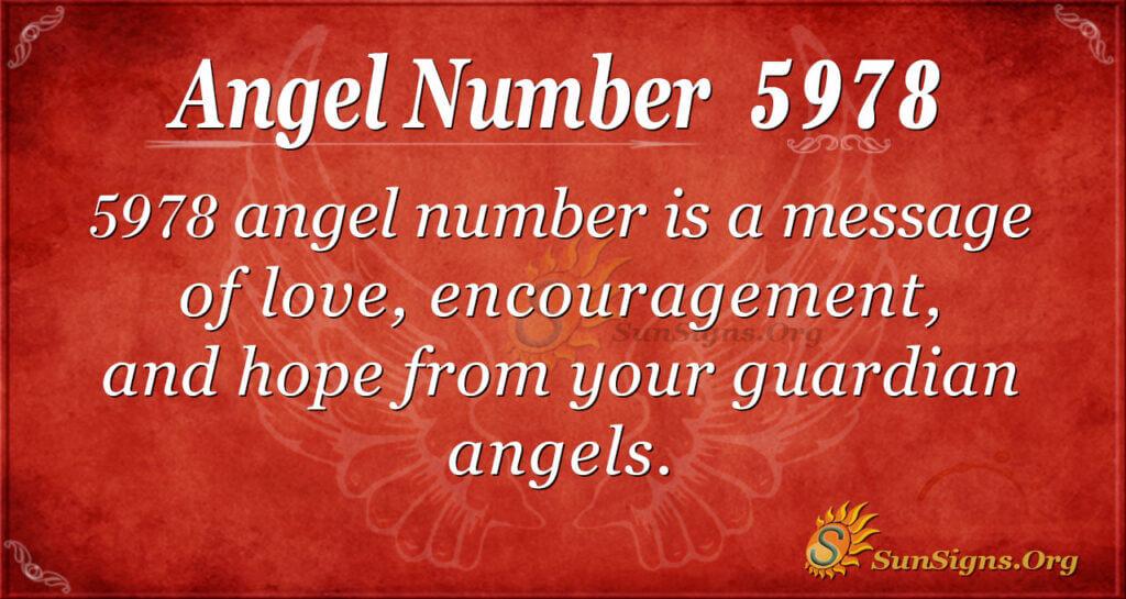 5978 angel number