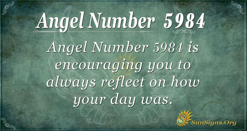 5984 angel number