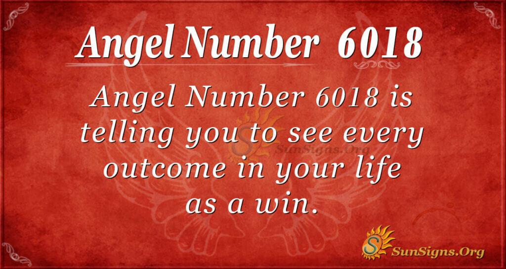 6018 angel number