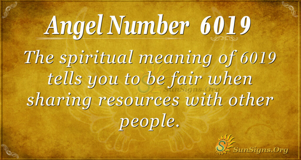 6019 angel number
