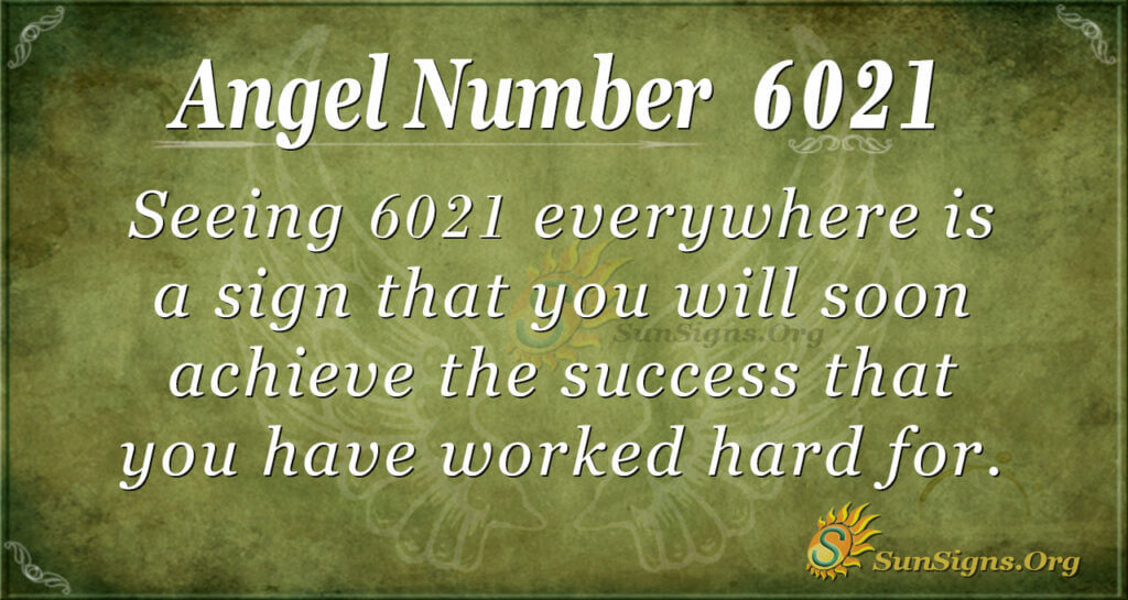 6021 angel number