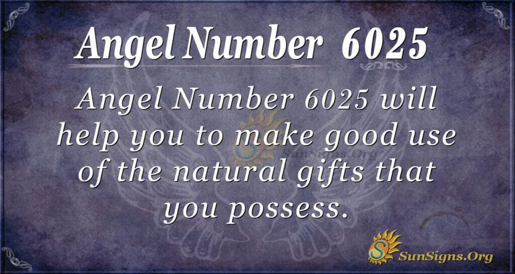 6025 angel number
