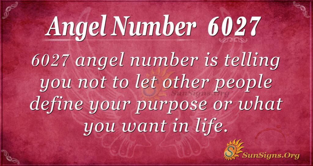 6027 angel number