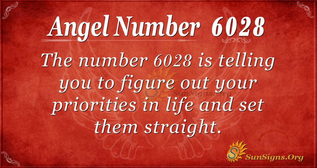 6028 angel number