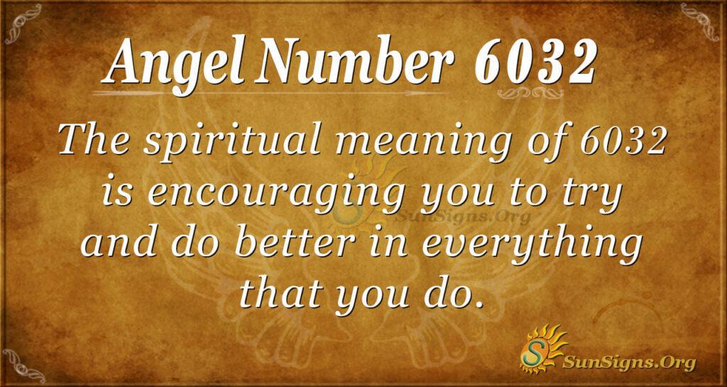 6032 angel number