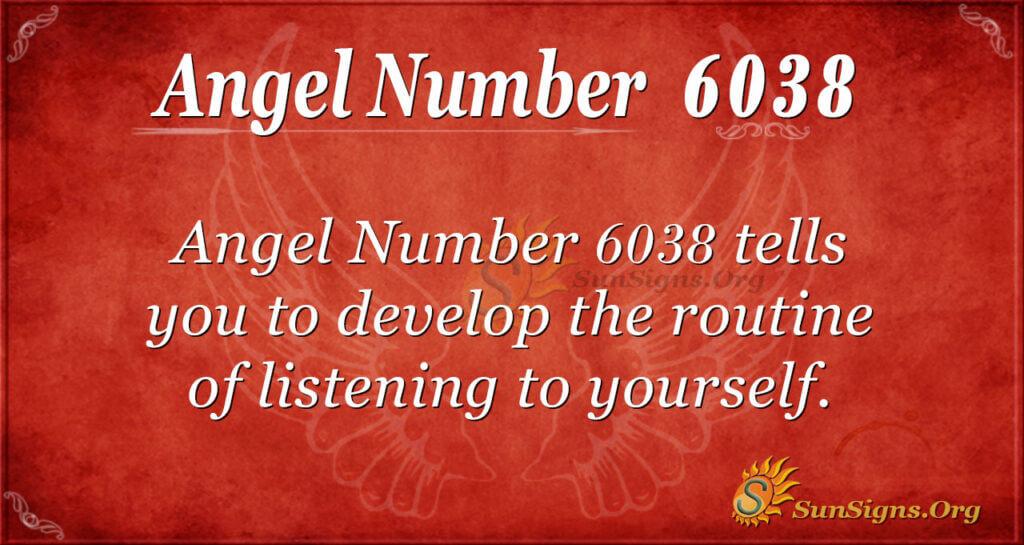 6038 angel number