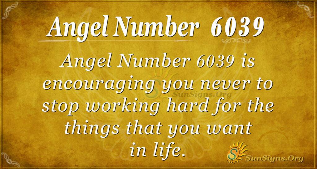 6039 angel number