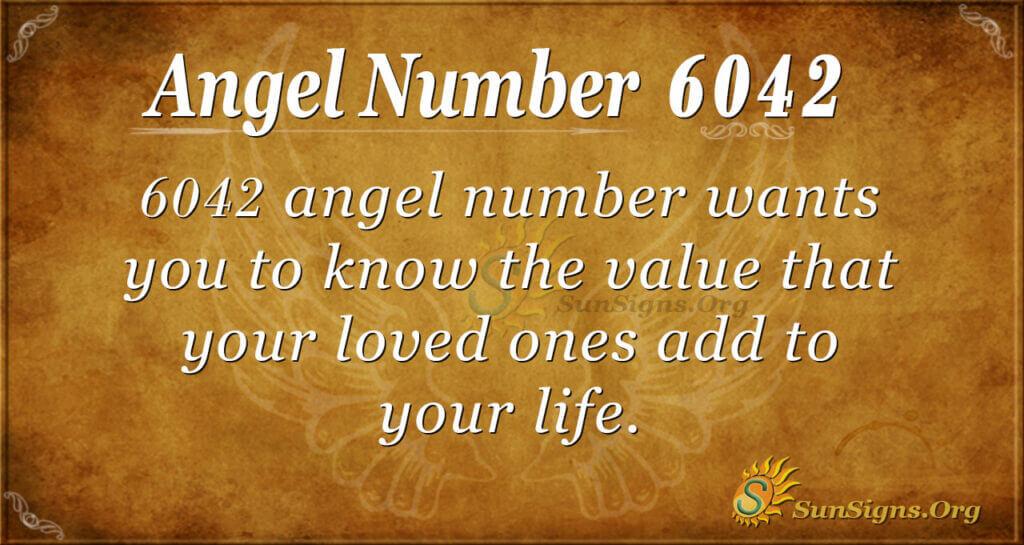 6042 angel number