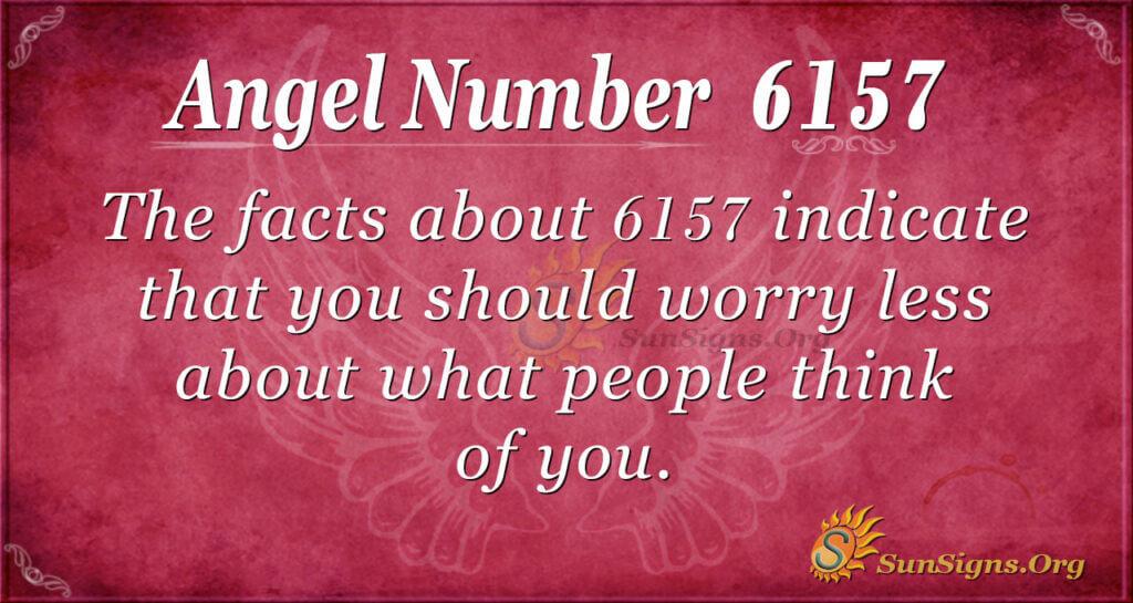 6157 angel number