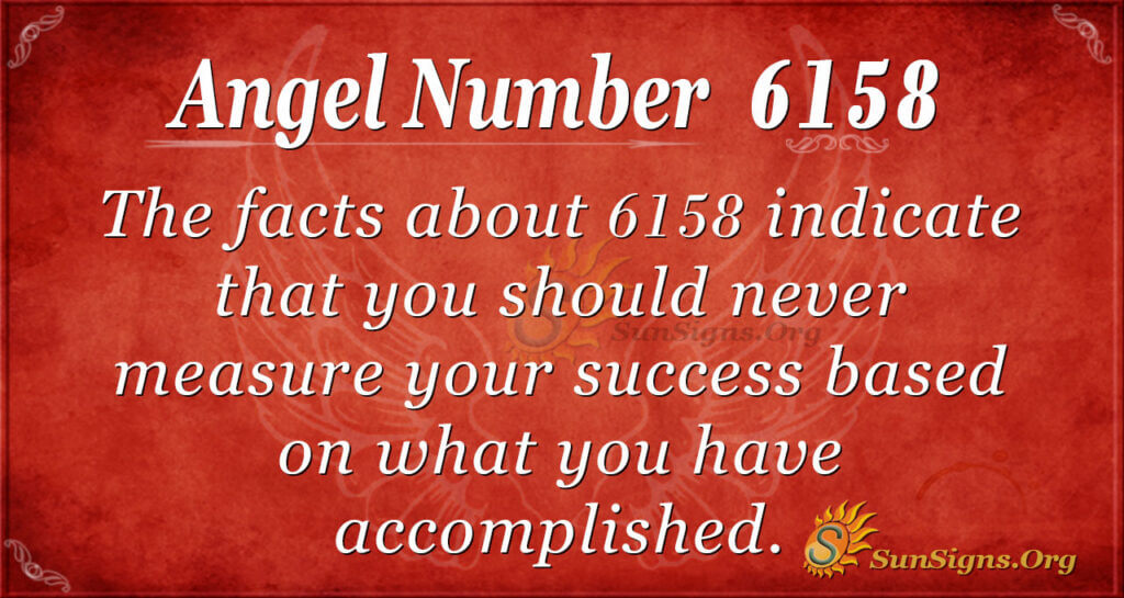 6158 angel number