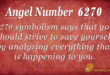 6270 angel number