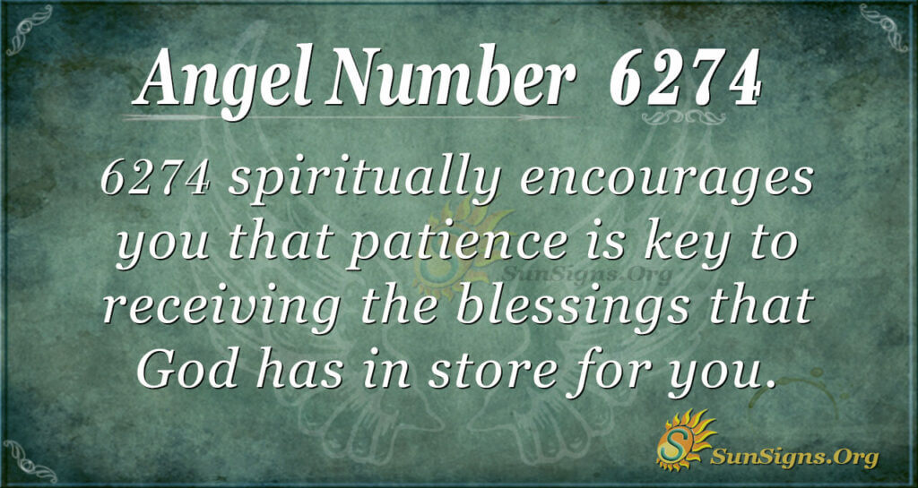 6274 angel number