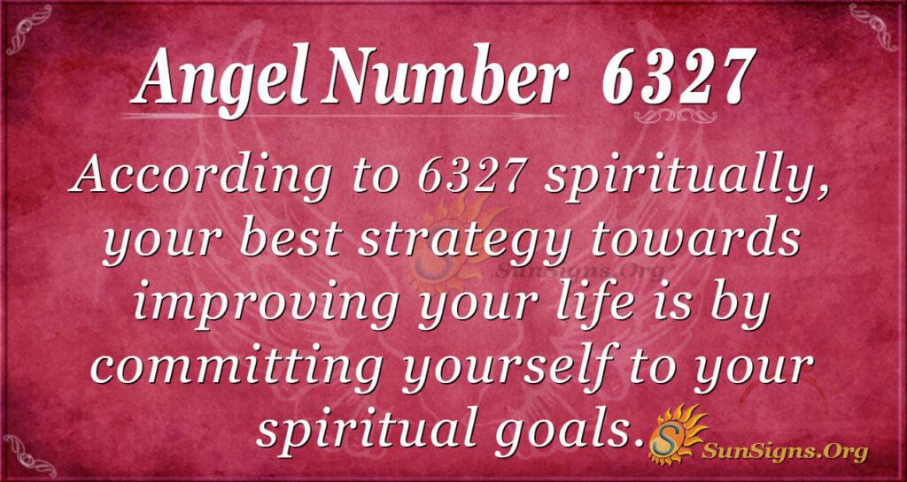 6327 angel number