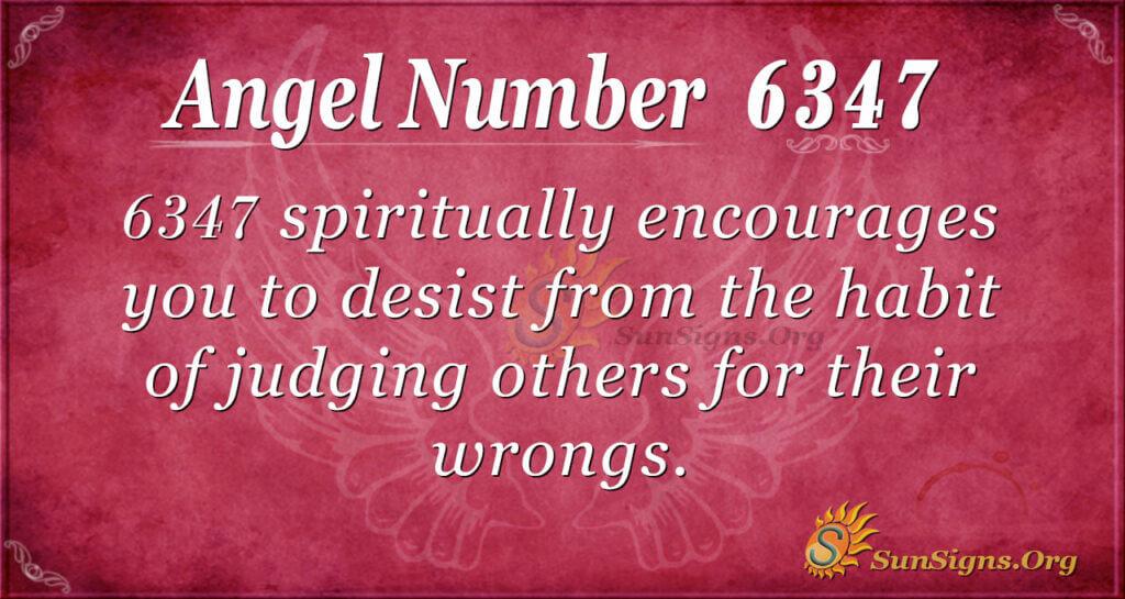 6347 angel number
