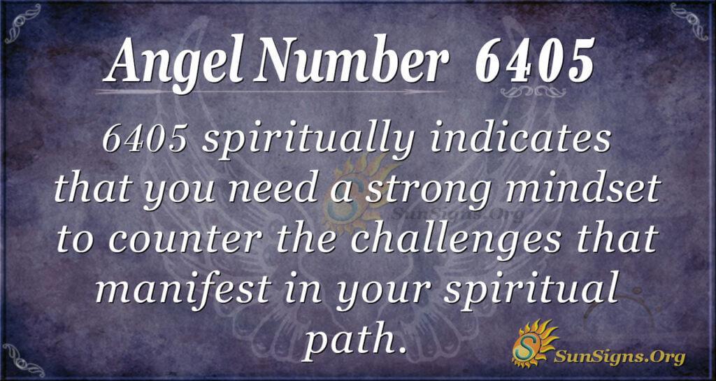 6405 angel number