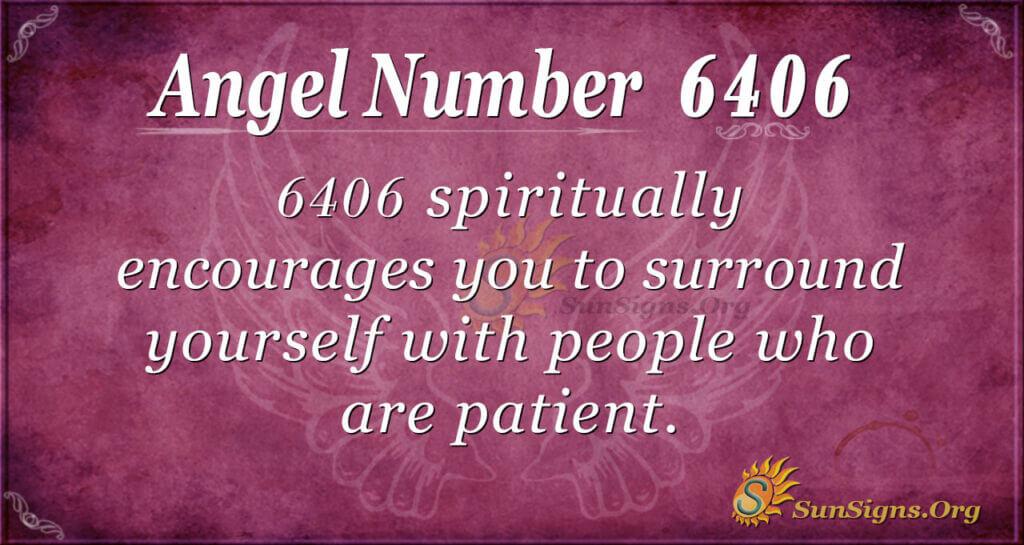 6406 angel number