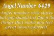 6429 angel number