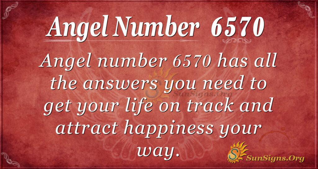 6570 angel number